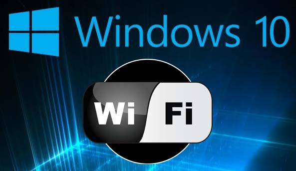 attivare il WiFi su Windows 10
