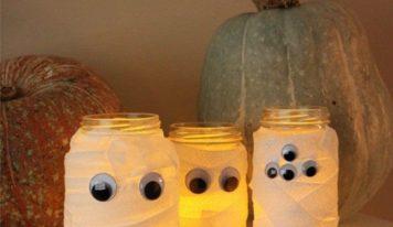 Halloween: come realizzare una mummia-lanterna in modo semplice e veloce